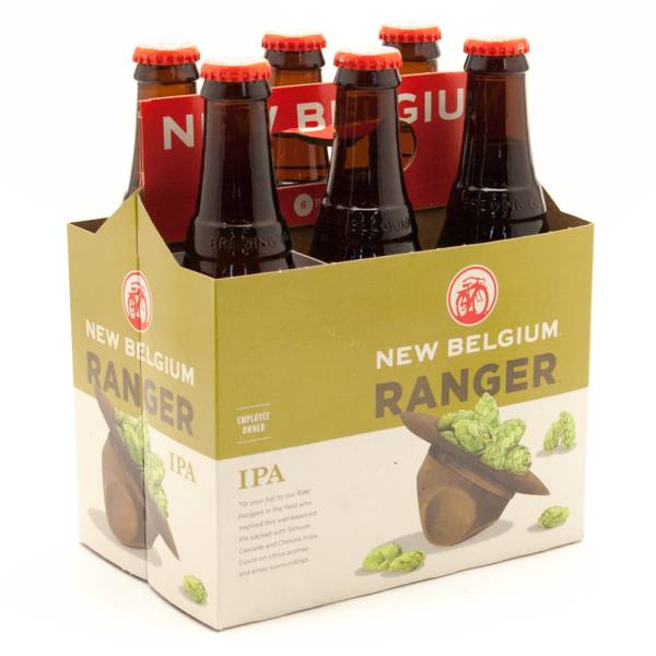 New Belgium - Voodo Ranger IPA - 12oz Bottle - 6 Pack