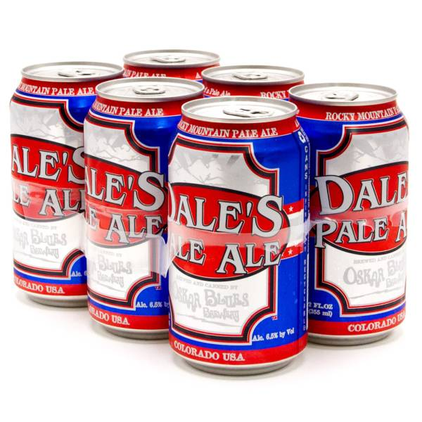 Oskar Blues - Dale's - Pale Ale - 12oz Can - 6 Pack