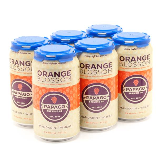 Papago - Orange Blossom - Wheat Beer - 12oz Can - 6 Pack