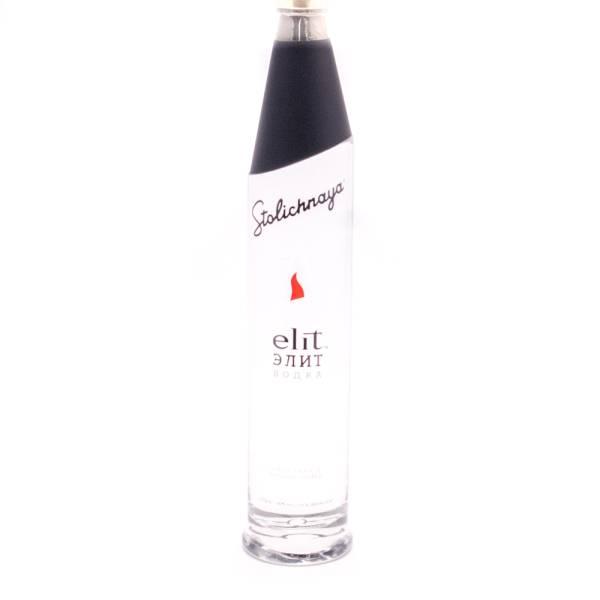 Stoli - Elit Ultra Luxury Russian Vodka - 80 Proof - 750ml