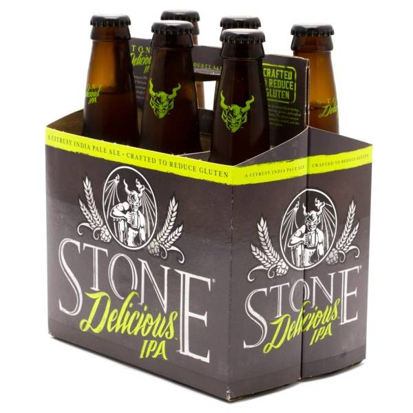 Stone - Delicious IPA - 12oz Bottles - 6 pack