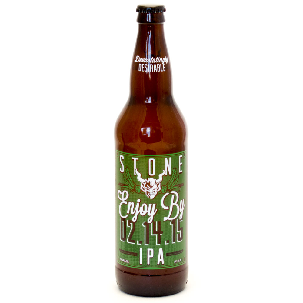 Stone - Enjoy by 2.14.15 IPA Devastatingly Desirable - 22oz Bottle