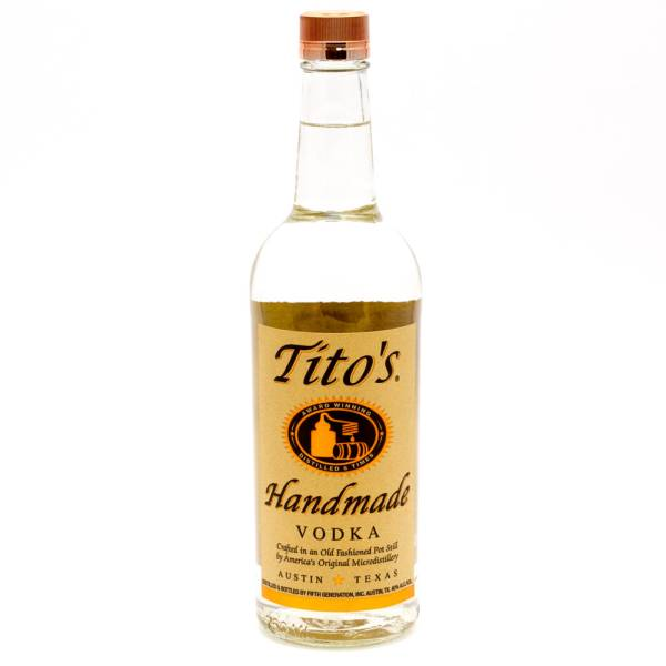 Tito's - Handmade Vodka - 750ml