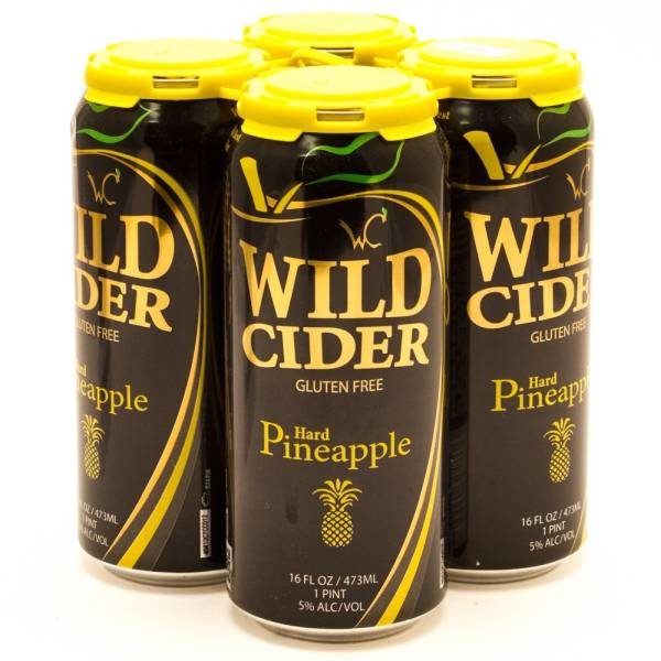 Wild Cider - Hard Pineapple - 16oz Can - 4 Pack