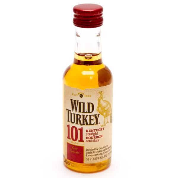 Wild Turkey - 101 Kentucky Bourbon Whiskey - Mini 50ml