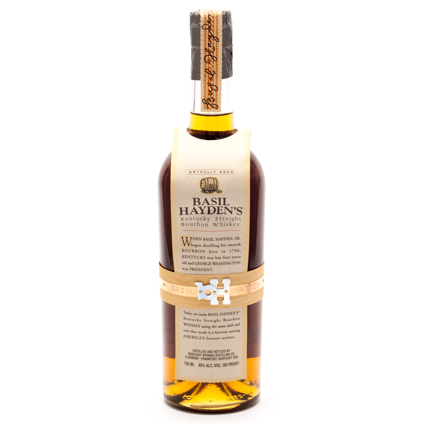 Basil Hayden's - Kentucky Straight Bourbon Whiskey 80 Proof - 750ml