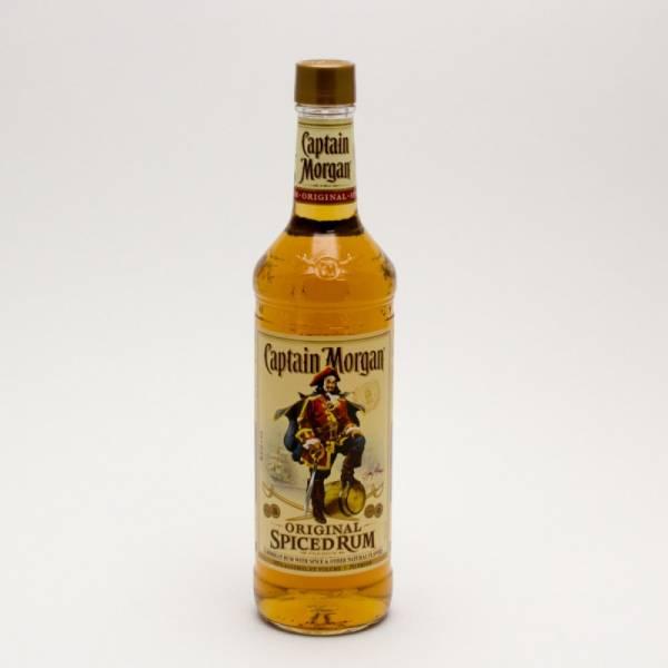 Captain Morgan - Original Spiced Rum - 750ml