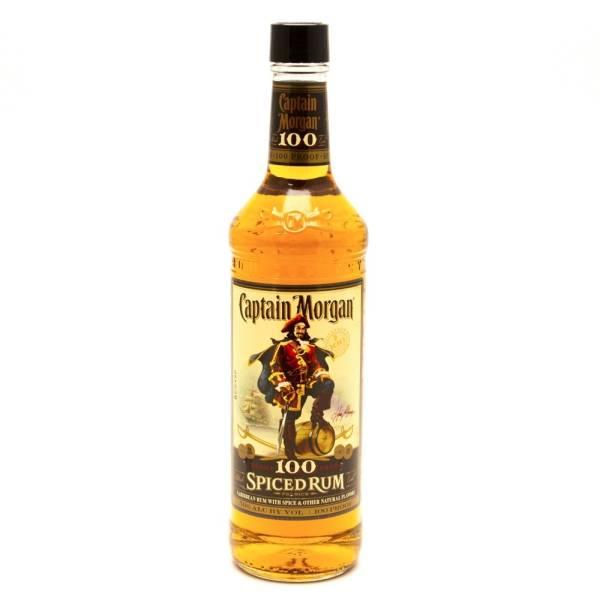 Captain Morgan - Spiced Rum 100 Proof - 750ml