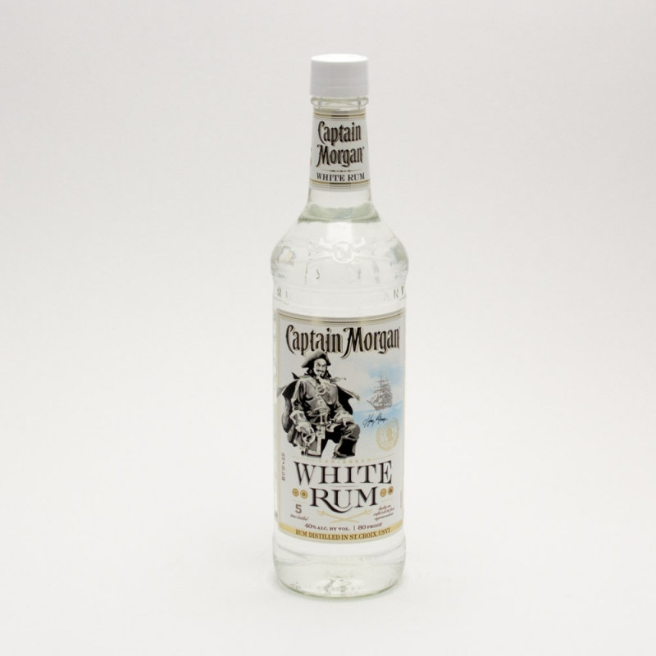 Captain Morgan - White Rum - 750ml
