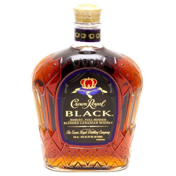 Crown Royal - Black Extra Bold Canadian Whiskey - 750ml