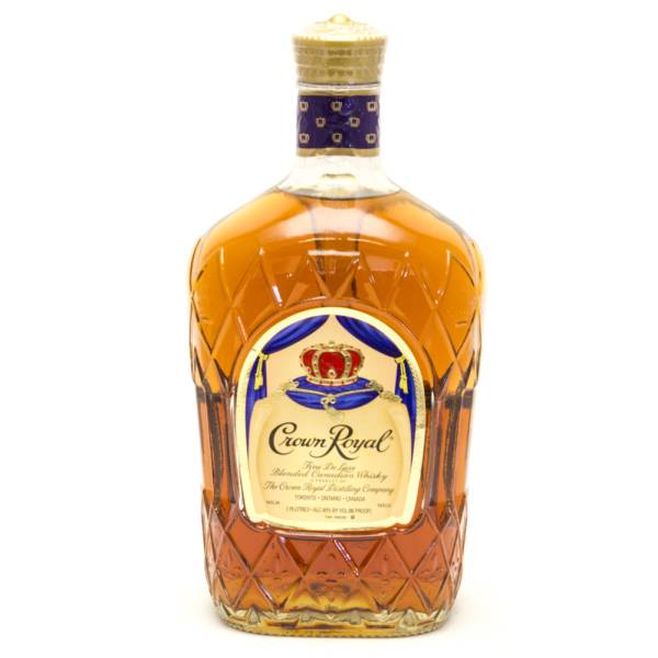 Crown Royal - Fine de Luxe Blended Canadian Whisky - 80 Proof - 1.75 Liters