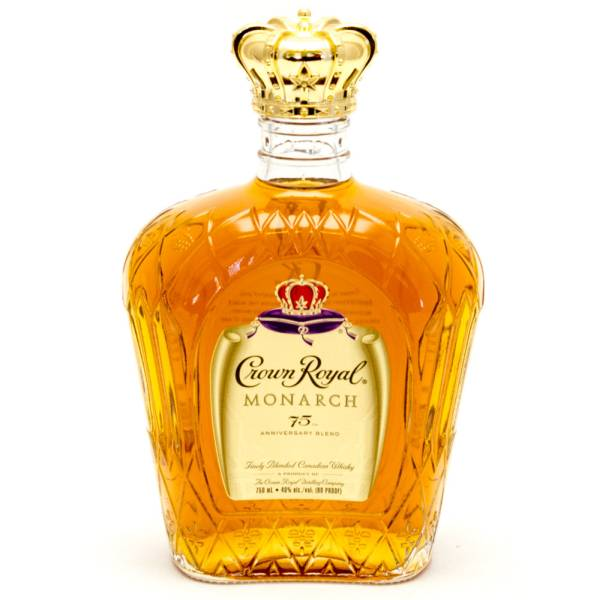 Crown Royal - Monarch Finely Blended Canadian Whisky - 80 Proof - 750ml