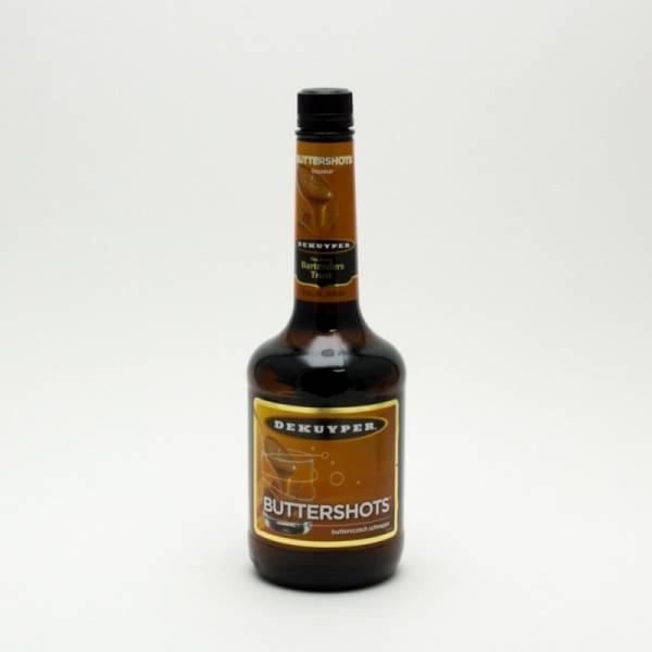 Dekuyper - Buttershots Butterscotch Schnapps - 750ml