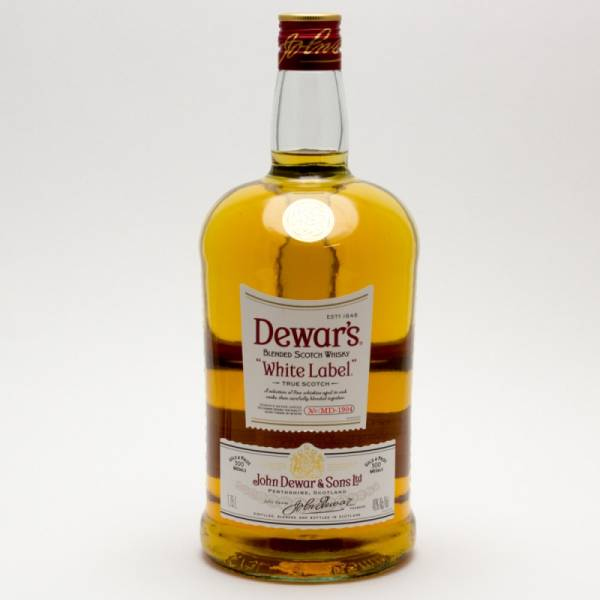 Dewar's - White Label True Scotch Whisky Blend - 1.75L