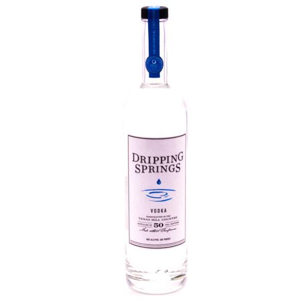 Dripping Springs - Distilled Vodka 80 Proof - 750ml