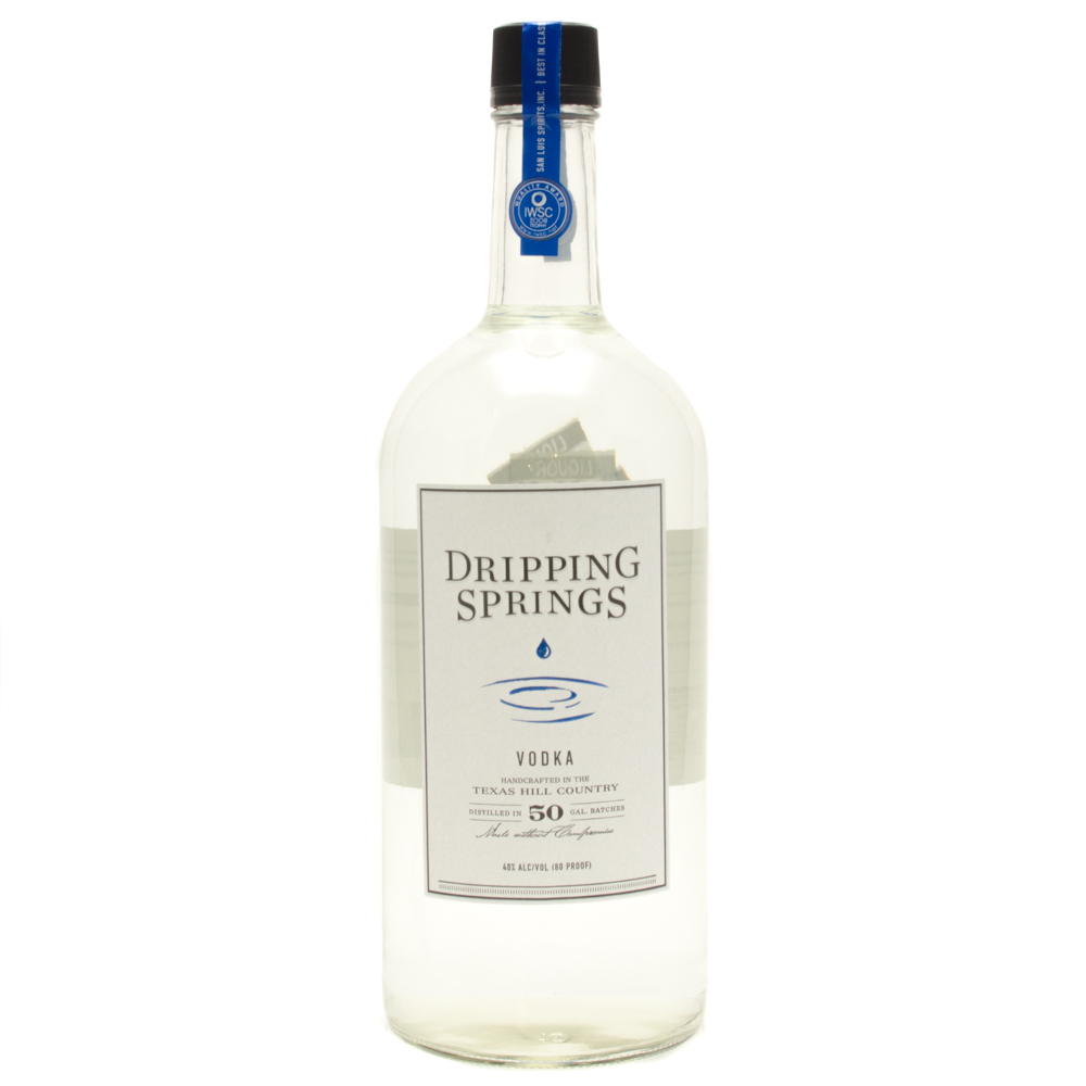 Dripping Springs - Distilled Vodka - 1.75L