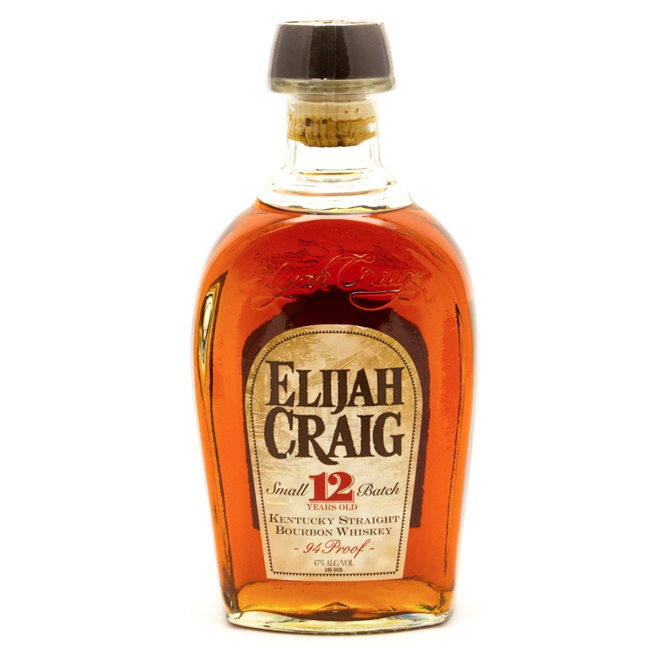 Elijah Craig - Kentucky Straight Bourbon Whiskey 12 Years Old - 750ml