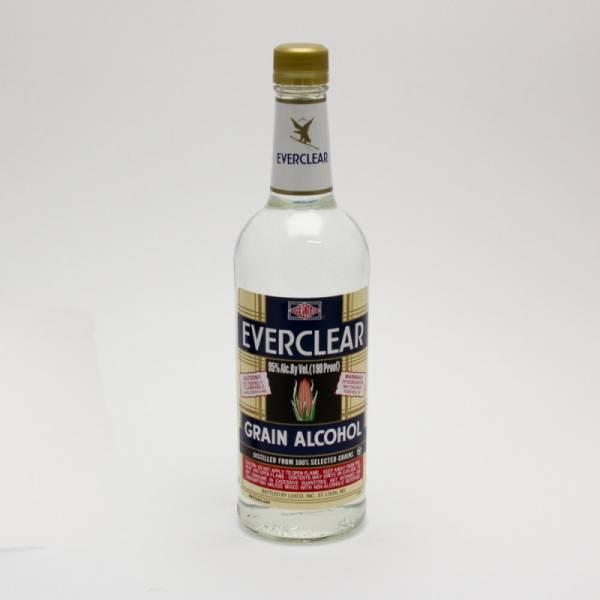 Everclear - Grain Alcohol - 750ml