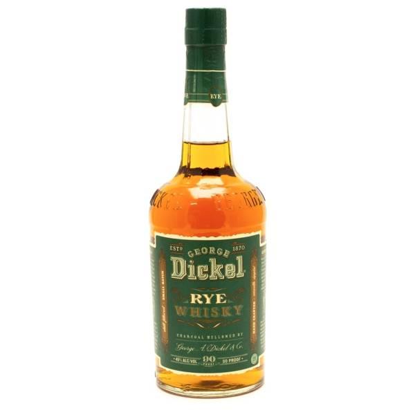 George Dickel - Rye Whiskey - 750ml