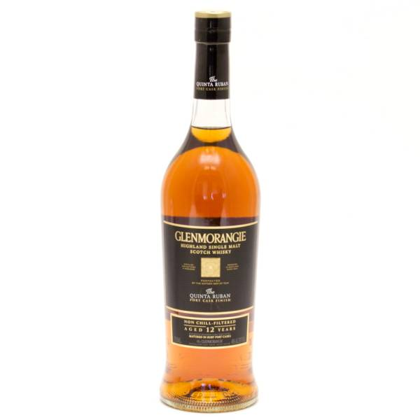 Glenmorangie - Quinta Ruban - Highland Single Malt Scotch Whisky - Aged 12 Years - 750ml