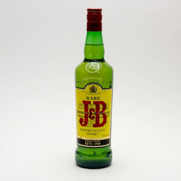 J&B - Rare Blended Scotch Whisky - 750ml