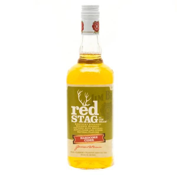 Jim Beam - Red Stag - Hardcore Cider Whiskey - 750ml