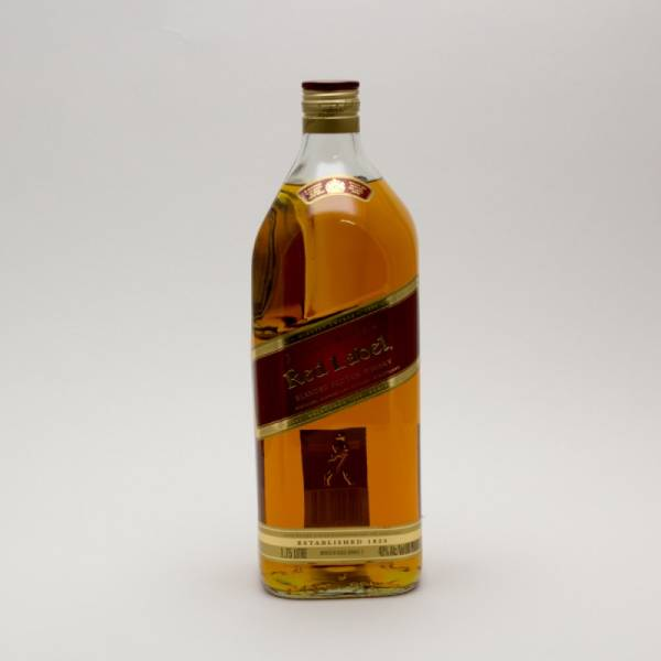 Johnnie Walker - Red Label - Blended Scotch Whiskey - 1.75L