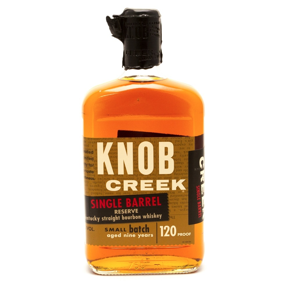 Knob Creek - Single Barrel Reserve Bourbon Whiskey Aged 9 Years - 750ml