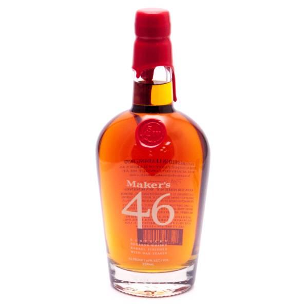 Maker's - 46 Kentucky Bourbon Whisky - 750ml