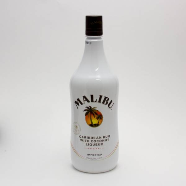 Malibu - Caribbean Rum with Coconut Liqueur - 1.75L