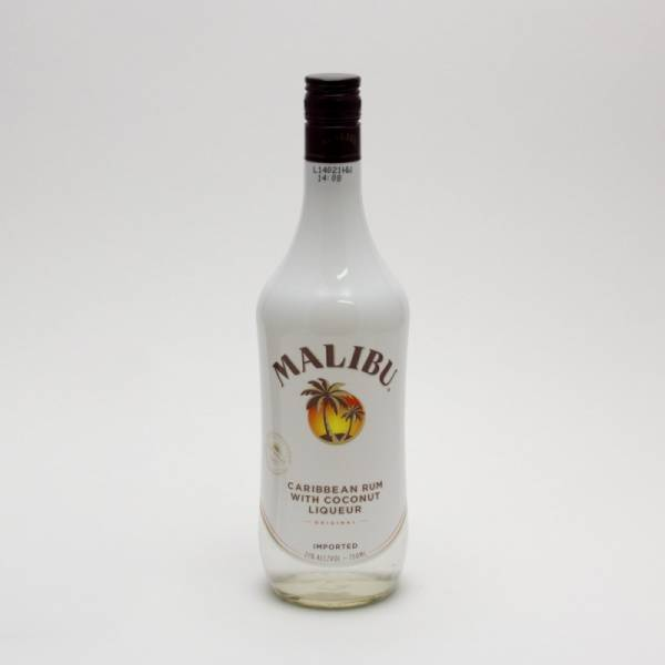 Malibu - Caribbean Rum with Coconut Liqueur - 750ml