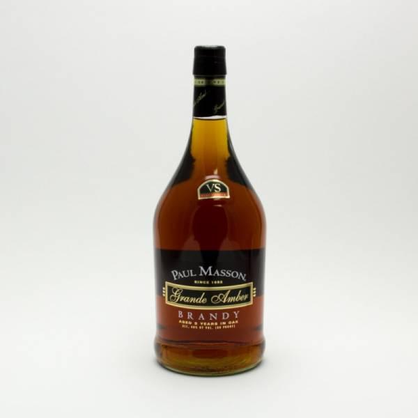 Paul Masson - Grande Amber VS Brandy - 1.75L