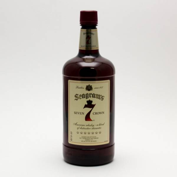 Seagram's - 7 Seven Crown American Blended Whiskey - 1.75L