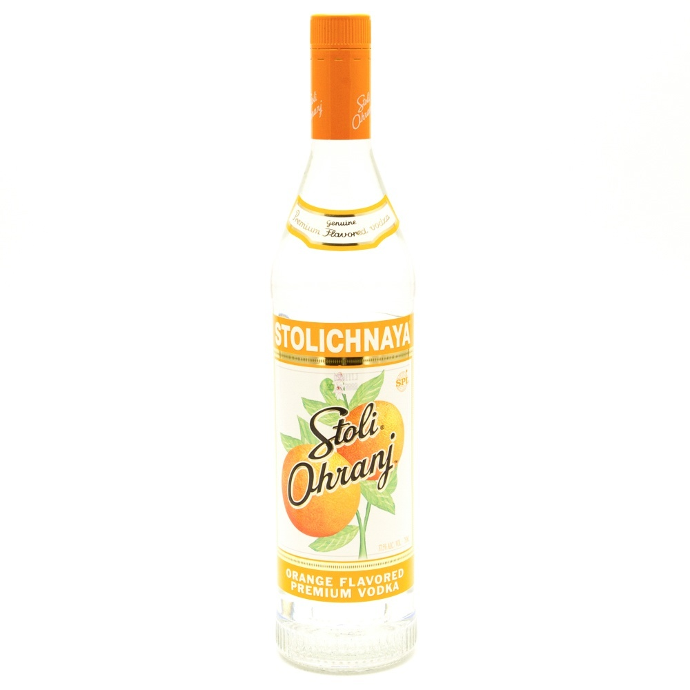 Stoli - Orange Vodka - 750ml