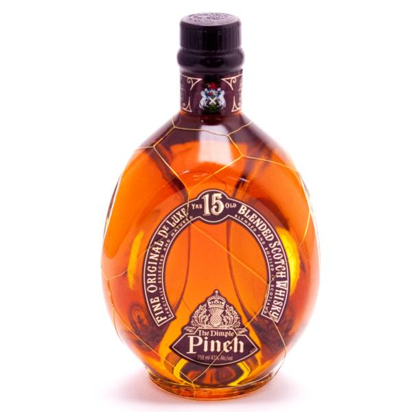 The Dimple Pinch - Scotch Whisky - Aged 15 Years - 750ml