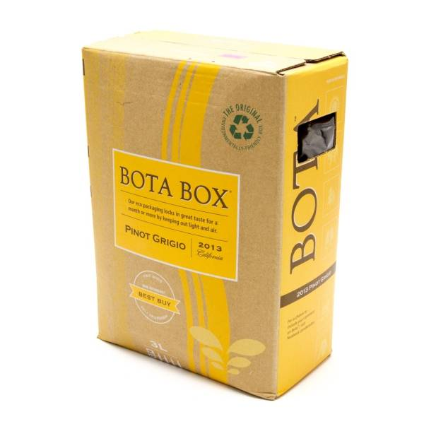 Bota - Box Pinio Grigio California 2013 - 3L