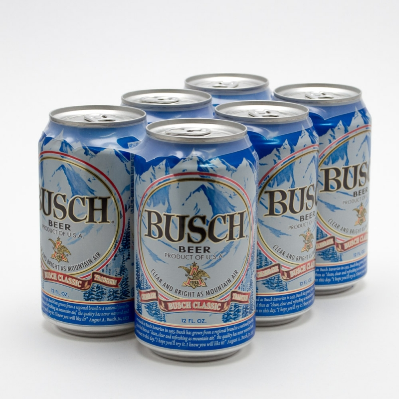 Busch Beer 12oz Can 6 Pack Beer Wine And Liquor