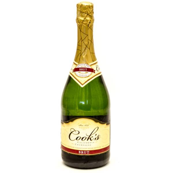 Cook S Brut Medium Dry California Champagne 750ml