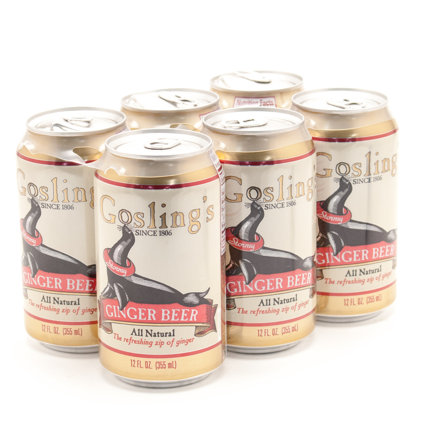 Gosling's - Ginger Beer - 12oz Can - 6 Pack