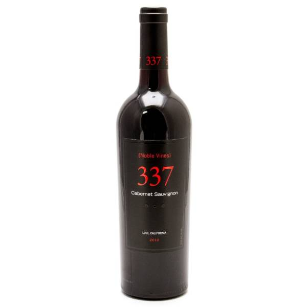 Noble Vines - 337 Cabernet Sauvignon California 2012 - 750ml