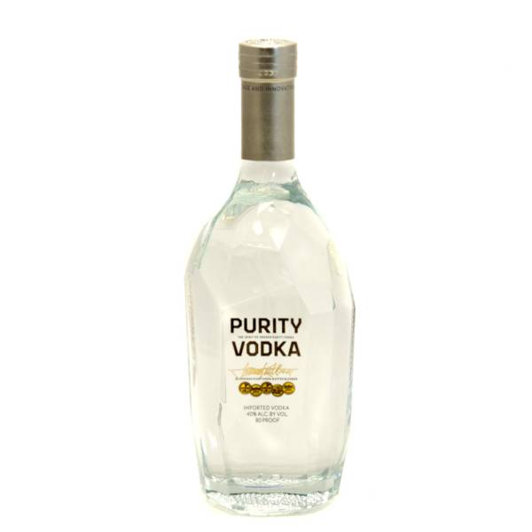 Purity Vodka Imported From Sweden 80 Proof 750ml