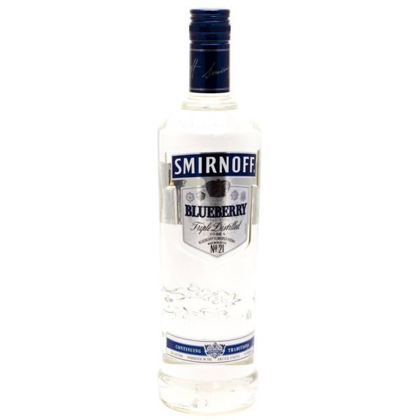 Smirnoff - Blueberry Vodka - 750ml