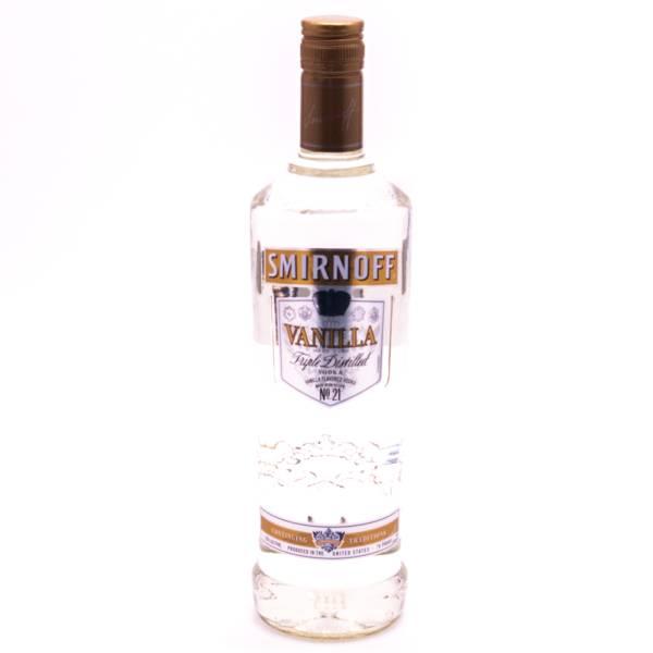 Smirnoff - Vanilla Flavored Triple Distilled Vodka 70 Proof - 750ml
