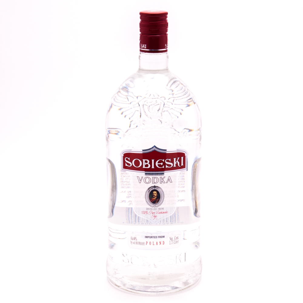Sobieski - Wodka Polska Vodka - 1.75L