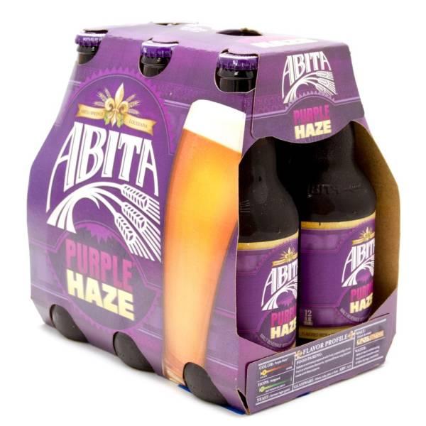 Abita - Purple Haze - 12oz Bottle - 6 Pack