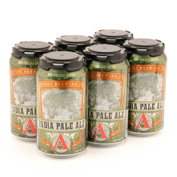 Avery - India Pale Ale - 12oz Bottle - 6 Pack