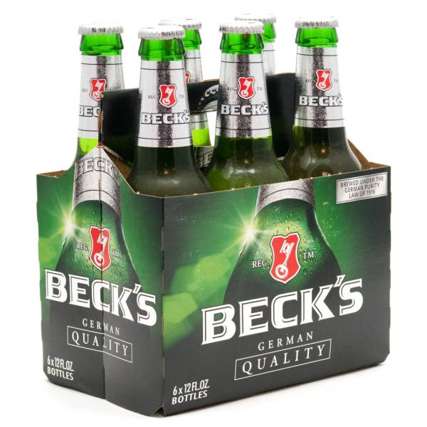 Beck's - German Beer - 12oz Bottle - 6 Pack