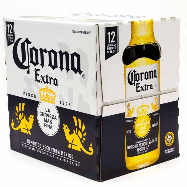 Corona Extra - Imported Beer - 12oz Bottle - 12 Pack
