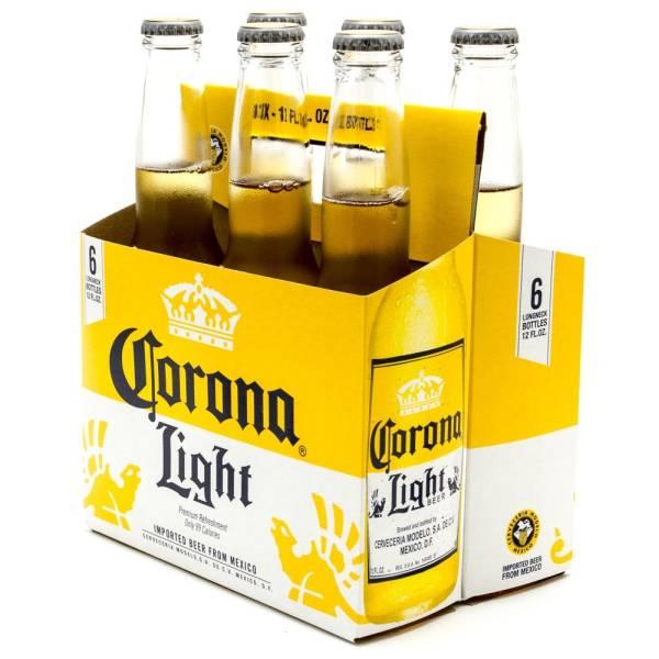 Corona Light - Imported Beer - 12oz Bottle - 6 Pack