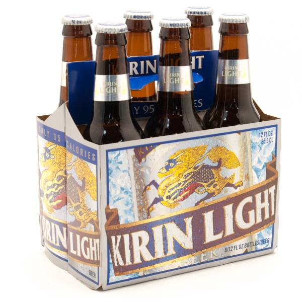 Kirin Light - Imported Beer - 12oz Bottle - 6 Pack